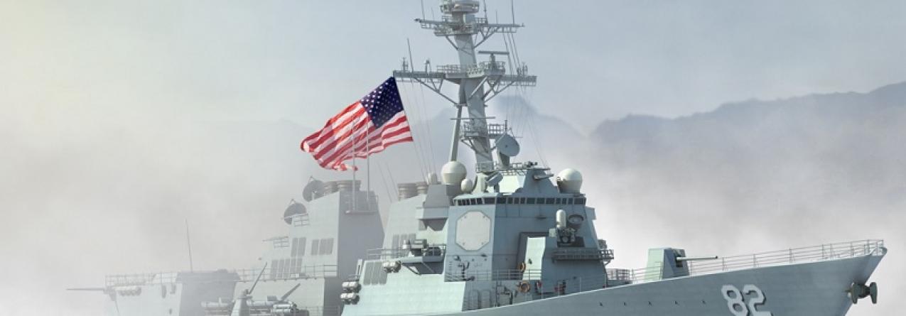 China furiosa com passagem de navio dos EUA ao largo de ilhas artificiais