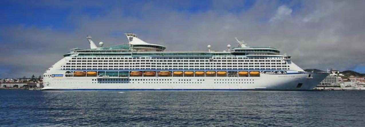 Açores ultrapassam máximo anual de escalas de navios de cruzeiro