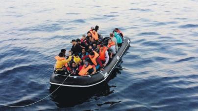 Polícia Marítima portuguesa apoiou e resgatou 80 migrantes no mar Egeu