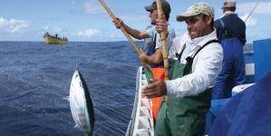 A pesca vira luxo