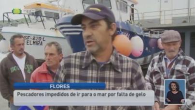 Falta de gelo nas Flores impede pescadores de irem ao mar (vídeo)