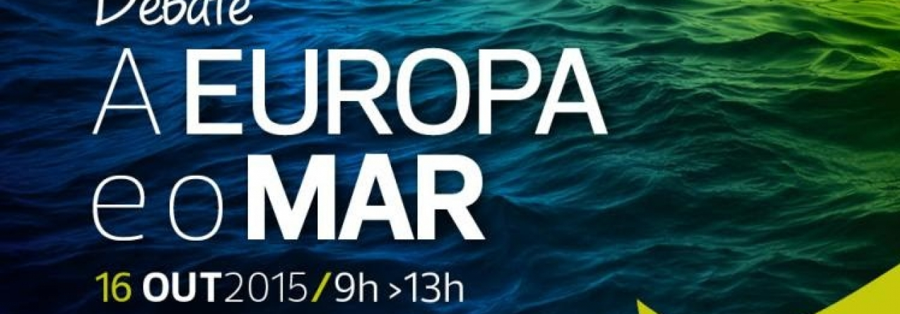 """Debate """"A Europa e o Mar"""" // Universidade do Algarve // 16/10/2015"""