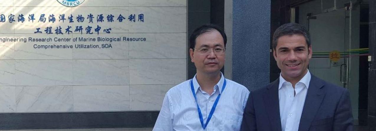 Açores e China devem desenvolver parcerias em investigação científica marinha, afirma Brito e Abreu