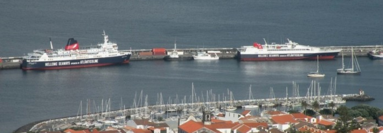 """SATA Internacional, EDA, Atlânticoline, Santa Catarina, Sinaga e Portos dos Açores"""