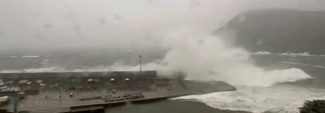 Mau tempo está de regresso aos Açores (vídeo)