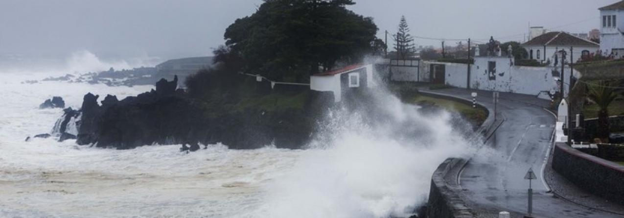 Portos de pesca danificados pelo mau tempo em São Miguel (som)