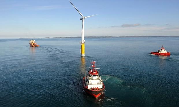 Primeiro parque eólico flutuante vai nascer ao largo da Escócia