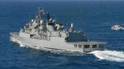 Fragatas Vasco da Gama fazem 25 anos de serviço