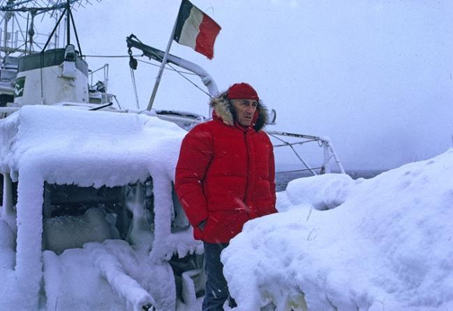 Calypso, o navio do comandante Cousteau vai voltar ao mar