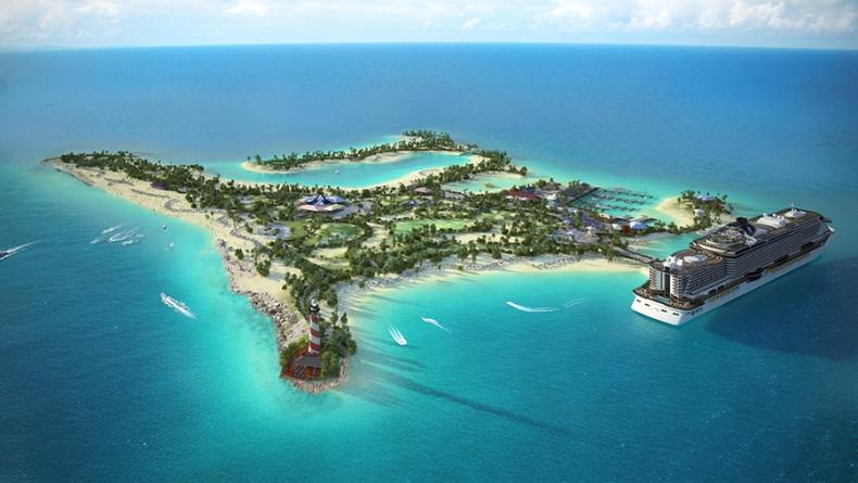 MSC Cruzeiros confirma Ocean Cay, a sua ilha privada nas Bahamas