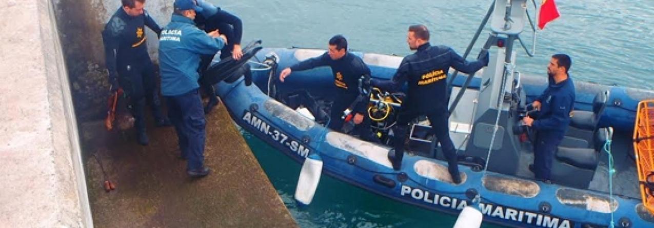 Polícia Marítima apreende polvo em Vila Franca do Campo