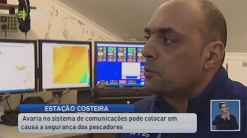 Equipamento avariado pode por em risco a segurança dos pescadores (vídeo)