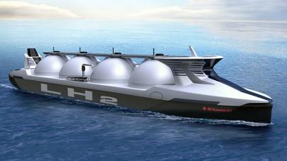 Kawasaki e Shell desenvolvem cargueiro de hidrogénio