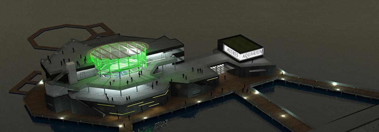 Azores Aquarium em Ponta Delgada estima receber 200 mil visitantes por ano