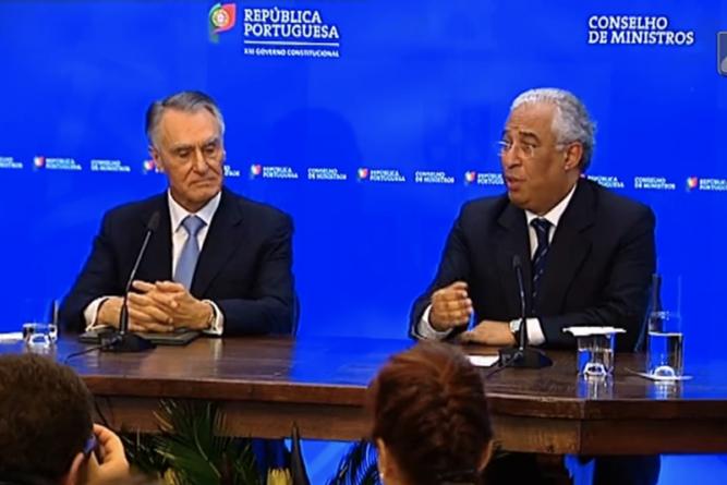 Costa promete continuar desígnios de Cavaco sobre o mar
