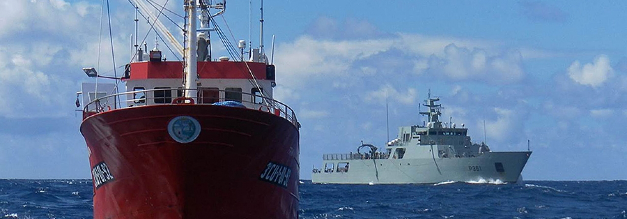 Marinha fiscaliza embarcações na ZEE dos Açores