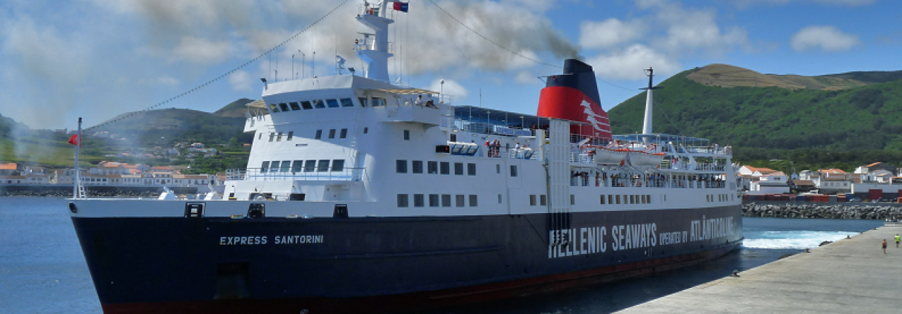 Ligações marítimas sazonais nos Açores arrancam na sexta-feira