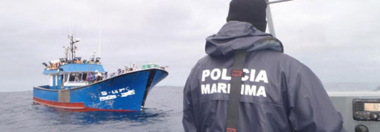 Policia Marítima 'apanha' embarcação de pesca do Funchal nas Formigas