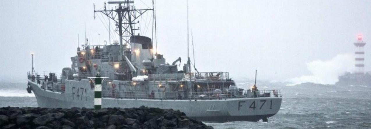 Mar dos Açores: um navio e um avião para fiscalizar 1 milhão de kms quadrados