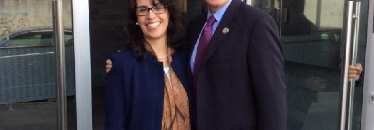 Embaixador dos Estados Unidos visita a Lotaçor