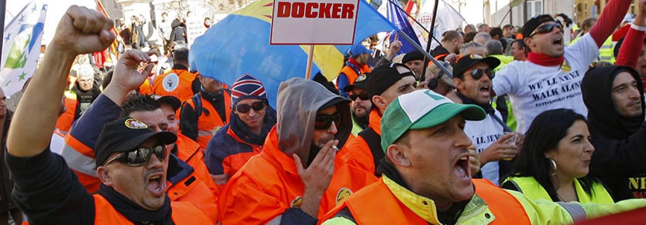 Prolongamento da greve dos estivadores penaliza fortemente os Açores