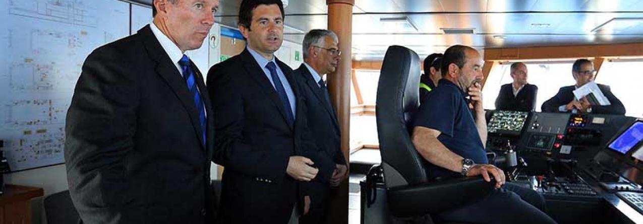 Rodrigo Oliveira destaca importância do mar para os Açores e para as Bermudas