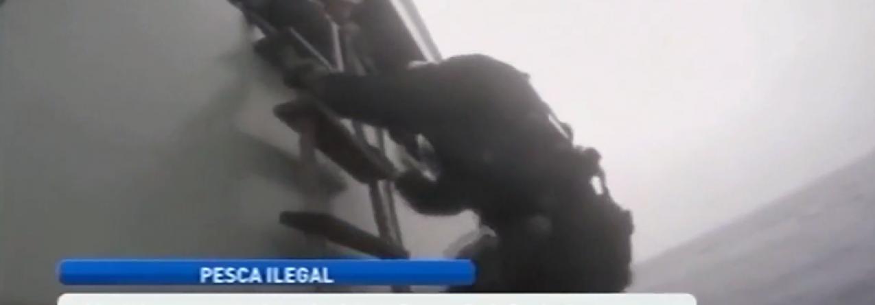 Barco apanhado a pescar ilegalmente no Banco D. João de Castro (vídeo)