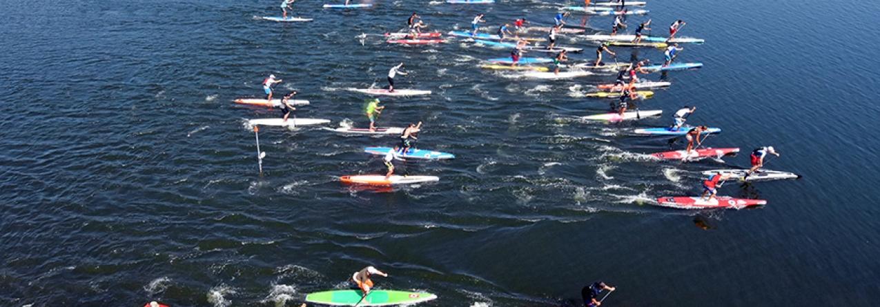 Porto de Setúbal recebe Circuito Europeu de Stand Up Paddle