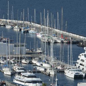 Marina da Horta, nos Açores, recebe há 30 anos embarcações de todo o mundo