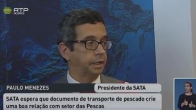 Sata empenhada em facilitar transporte de pescado (vídeo)