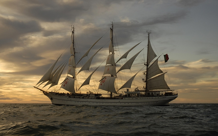 Santander Totta patrocina o Navio Escola Sagres