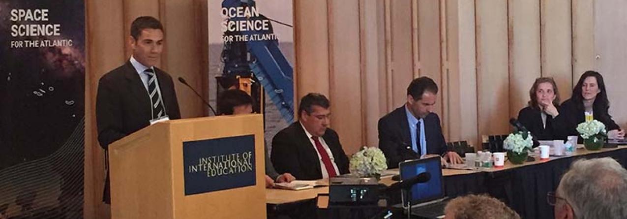 Açores são centrais para estudos sobre clima, espaço e oceano, afirma Brito e Abreu