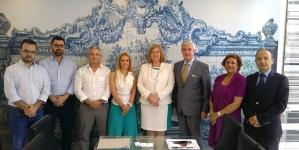 Ministra do Mar na inauguração da nova eclusa do Canal do Panamá