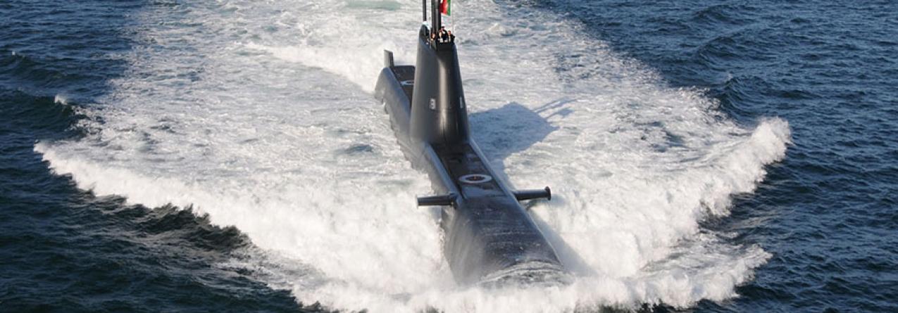 Submarino Tridente em Ponta Delgada