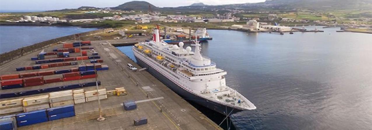 Brasil quer plataforma no porto da Praia da Vitória (som)