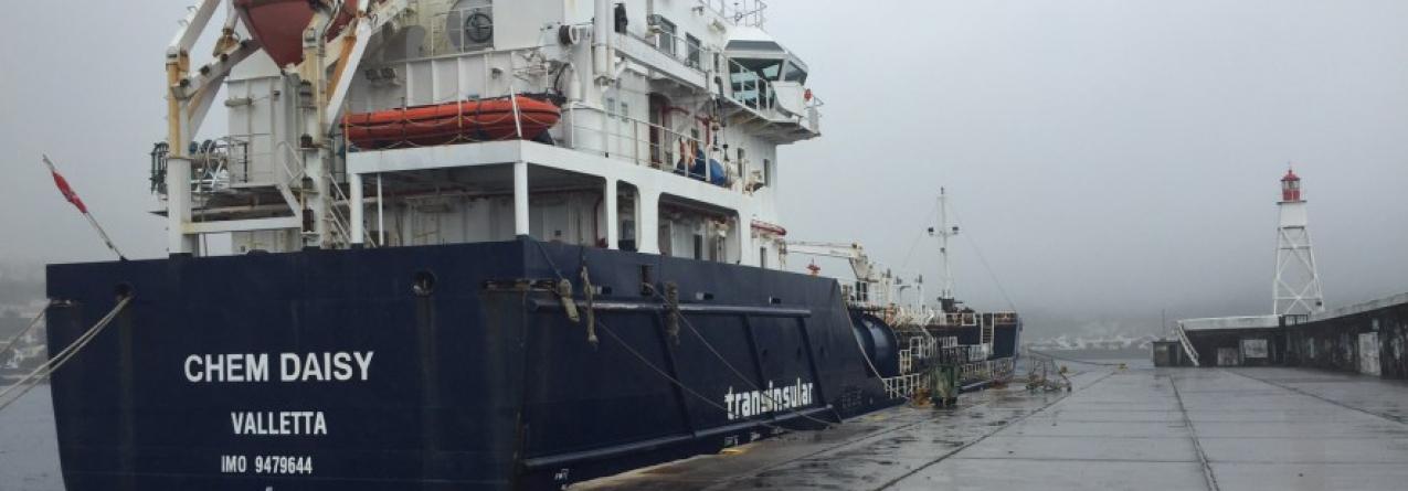 8 tripulantes do Chem Daisy impedidos de sair da ilha do Faial, sem dinheiro e sem mantimentos