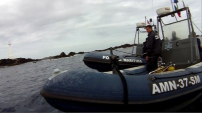 Embarcação autuada em flagrante delito na reserva das Formigas