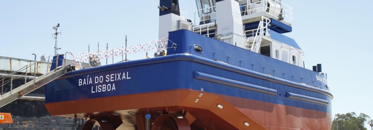 """Baía do Seixal"" primeiro rebocador inovador de construção 100% nacional"