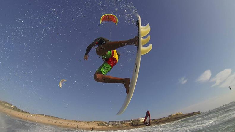 Português 3º classificado no Mundial de Kitesurf