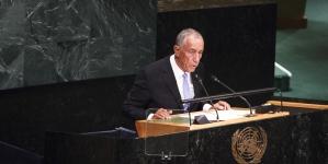 Presidente da República inclui oceanos no discurso nas Nações Unidas