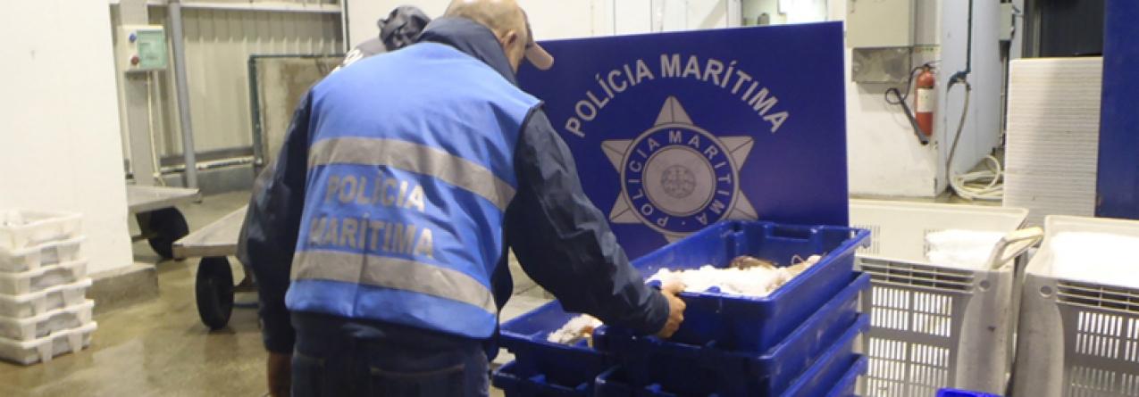 Polícia Marítima apreende 2 toneladas de pescado nos Açores