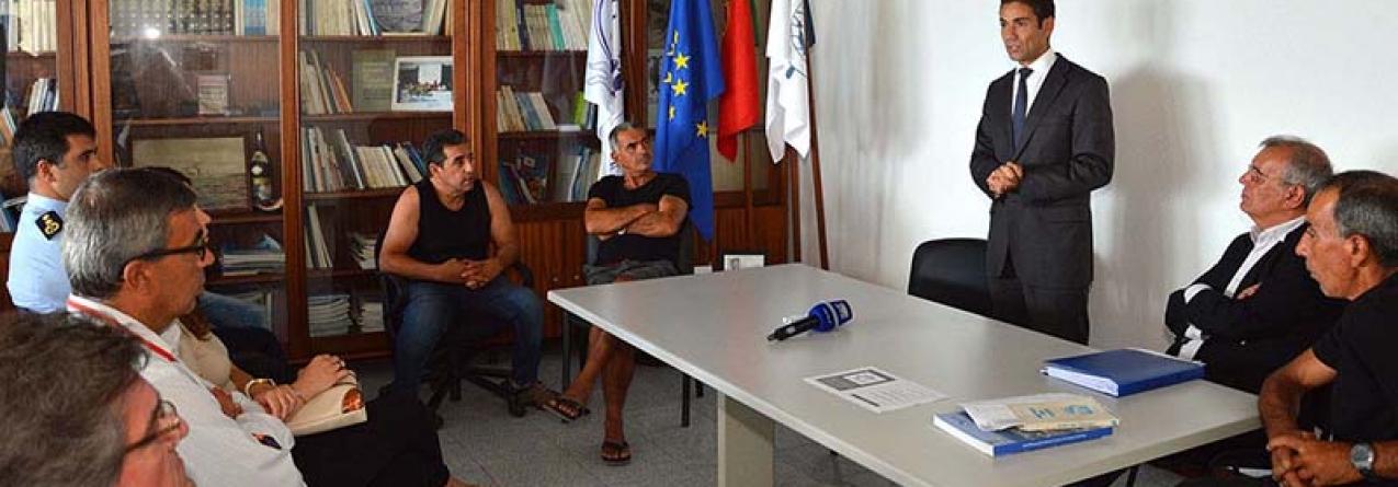 Governo dos Açores investe 70 mil euros na Estação Costeira Porto de Abrigo
