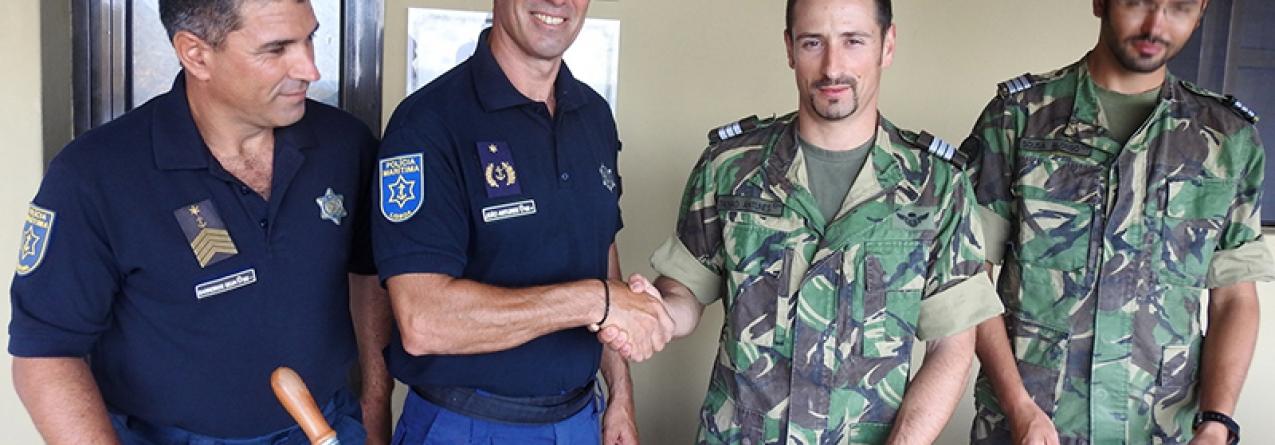 1º ato administrativo da Polícia Marítima nas ilhas Selvagens