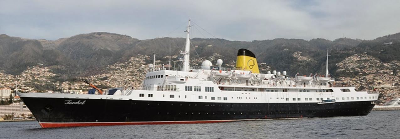 Navio 'Funchal' chegou há 55 anos ao porto que lhe deu o nome