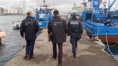 Polícia Marítima e ANACOM fiscalizam radiocomunicações a bordo de embarcações