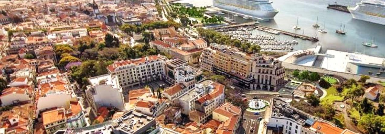 Cruzeiros trazem 18.000 pessoas ao Funchal