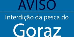 Interdição da pesca de Goraz