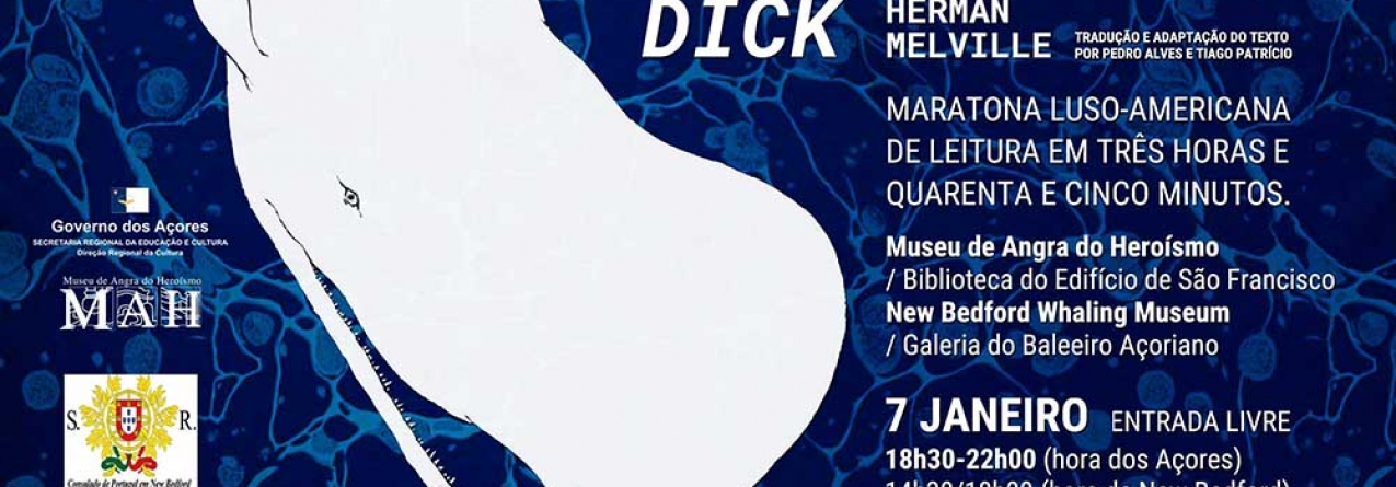 """Maratona de leitura de """"Moby Dick"""" no Museu de Angra do Heroísmo"""