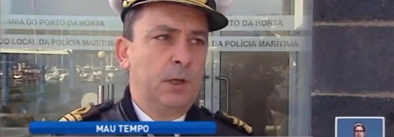 Mau tempo deixa Açores em alerta vermelho (vídeo)