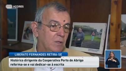 Liberato Fernandes troca liderança da Cooperativa Porto de Abrigo pela escrita.